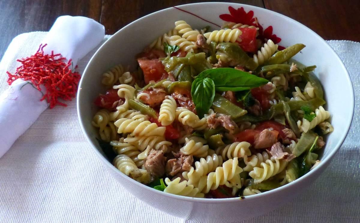 Ensalada de pasta con jud as verdes cocina pasi n for Cocinar judias verdes