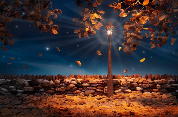Autumn-Flakes. Carl Warner