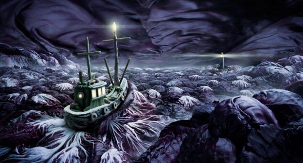 Cabbage-Sea. Carl Warner