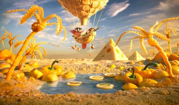 Yellow-Oasis. Carl Warner