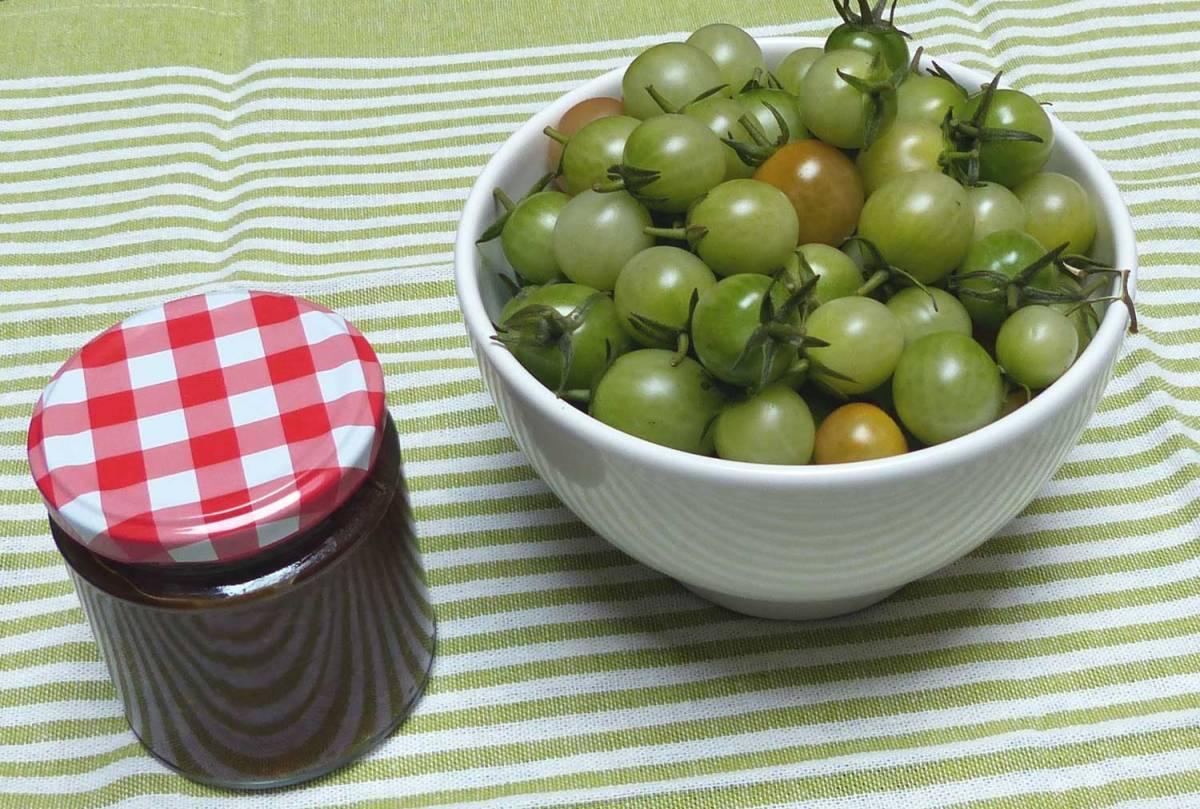 chutney de tomate verde cocina pasi n. Black Bedroom Furniture Sets. Home Design Ideas