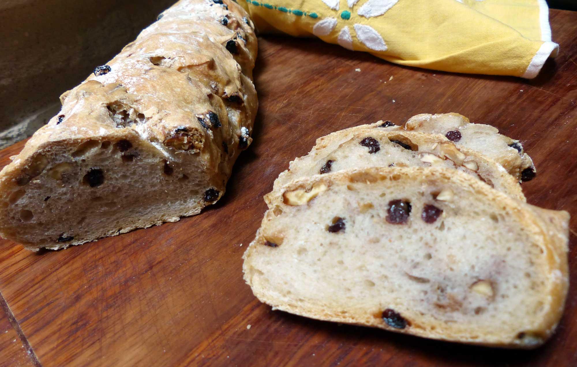 El fracaso existe. Primer intento de pan de pasas y nueces   Cocina ...