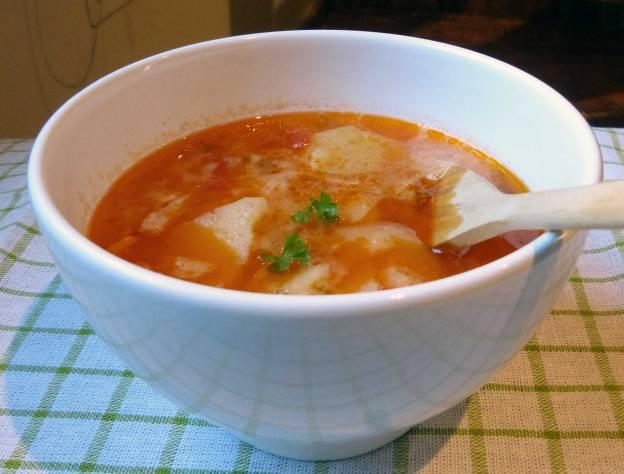 Sopa de patata. CP.