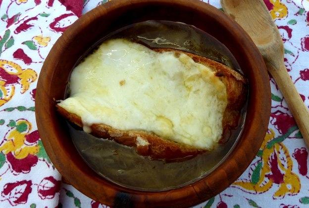 Sopa francesa de cebollla. CP